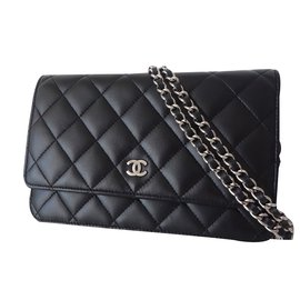 Chanel-WALLET ON CHAIN CHANEL-Noir