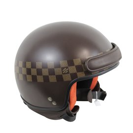 Louis Vuitton-Casque moto-Marron