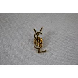 ... Yves Saint Laurent-Pin YSL-Doré f0817fefee8