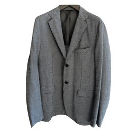 Jil Sander-Light summer jacket-Grey