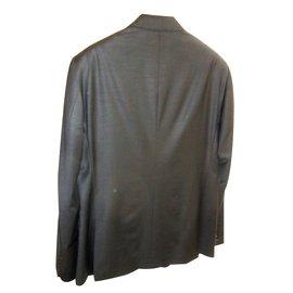 Moschino-Moschino  men's black suit-Black