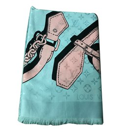 Louis Vuitton-Foulards-Gris