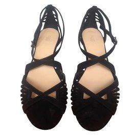 Hoss Intropia-Sandales-Noir