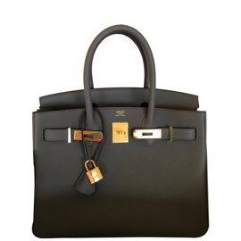 Hermès-Birkin 30-Gris