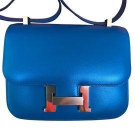 Hermès-Constance 24-Bleu