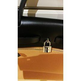 Hermès-Hermès herbag 31-Caramel