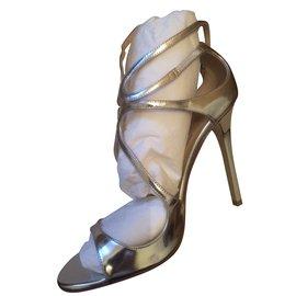 Sandales Pour Les Femmes En Vente, Rose, Ballet En Cuir Suédé, 2017, 36 Choo Londres Jimmy