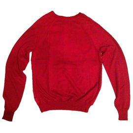 Hermès-Knitwear-Red