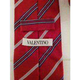 Valentino-Cravates-Rouge