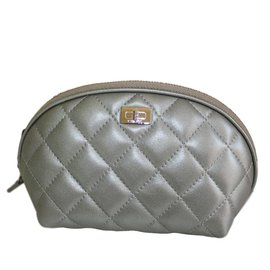 Chanel-Purses, wallets, cases-Silvery
