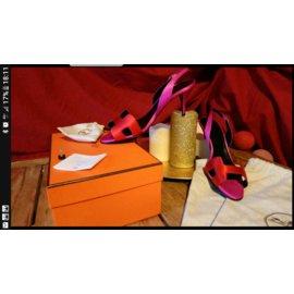 Hermès-Sandals-Pink