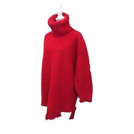 Balenciaga-Pulls, Gilets-Rouge