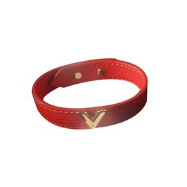Louis Vuitton-Bracelets-Rouge