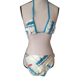 Hermès-Swimwear-White