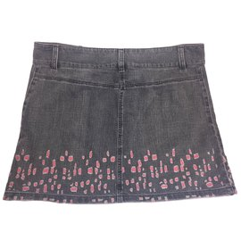 Chanel-Skirts-Pink,Grey