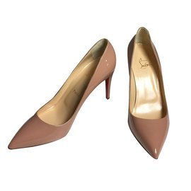 Christian Louboutin-Pigalle Nude-Beige