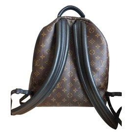 Louis Vuitton-Sacs à dos Palm springs-Marron