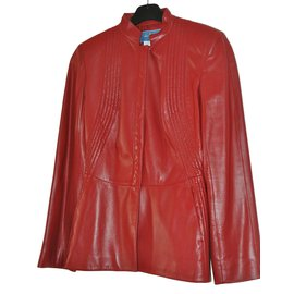 Thierry Mugler-Jackets-Red