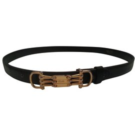 Céline-Belts-Black