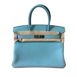 Hermès-Birkin 30-Bleu ... 7b995f9aff1