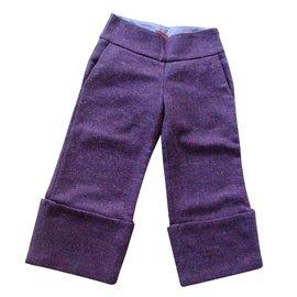 Kenzo-Pantalons fille-Violet