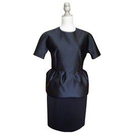 Balenciaga-la petite robe noire-Noir
