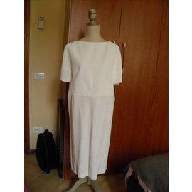 Balenciaga-robe blanche-Blanc