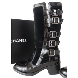 Chaussures luxe Chanel occasion - Joli Closet d7db71e6194