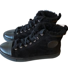 Hermès-Jimmy  Sneakers-Black
