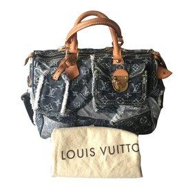 Louis Vuitton-Sacs à main-Gris anthracite