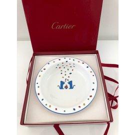 Cartier-Bol pour enfant Cartier en porcelaine-Blanc