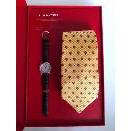 Lancel-Quarzuhren-Silber