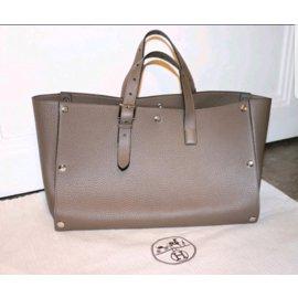 Hermès-Cabas-taupe