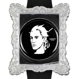 Jeremy Scott-watch édition spéciale portrait par jeremy scott-Noir