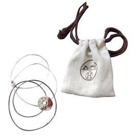 Hermès-Necklaces-Silvery