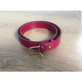 Louis Vuitton-Ceintures-Rouge