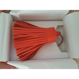 Hermès-Carmen Bicolor Key Holder-Pink,Red