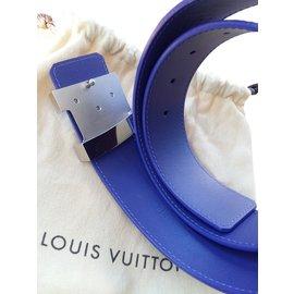 Louis Vuitton-Ceinture LV epi figue-Violet