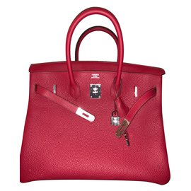 Hermès-Birkin 35-Red