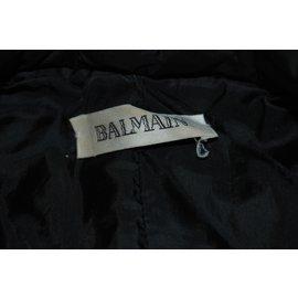 Balmain-Manteaux-Noir