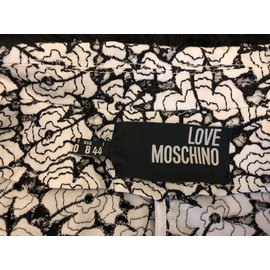 Love Moschino-Jackets-Black