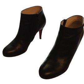 Christian Louboutin-Bottines belle calf-Noir