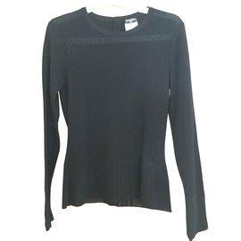 Chanel-Knitwear-Black