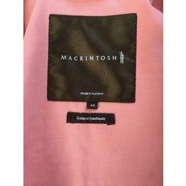 Autre Marque-Pardessus Mackintosh-Rose