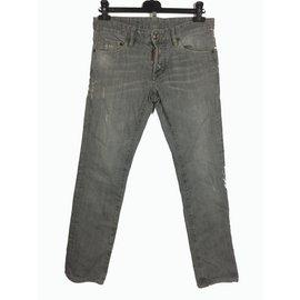 Dsquared2-Jeans-Gris