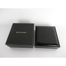 Bulgari-Bulgari  Necklace Jewelry Box Inner Box and Outer Box-Black,Dark grey