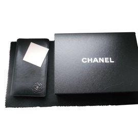 Chanel-Portefeuille camelia-Noir