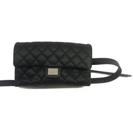 Chanel-Uniform belt bag-Black