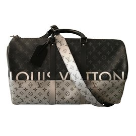 Louis Vuitton-Keep all Split (pacific )-Argenté ... 1c2bcc3df03