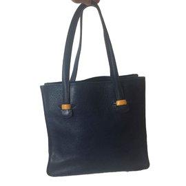 Hermès-Victoria Tote-Navy blue ... d1740a818bb58